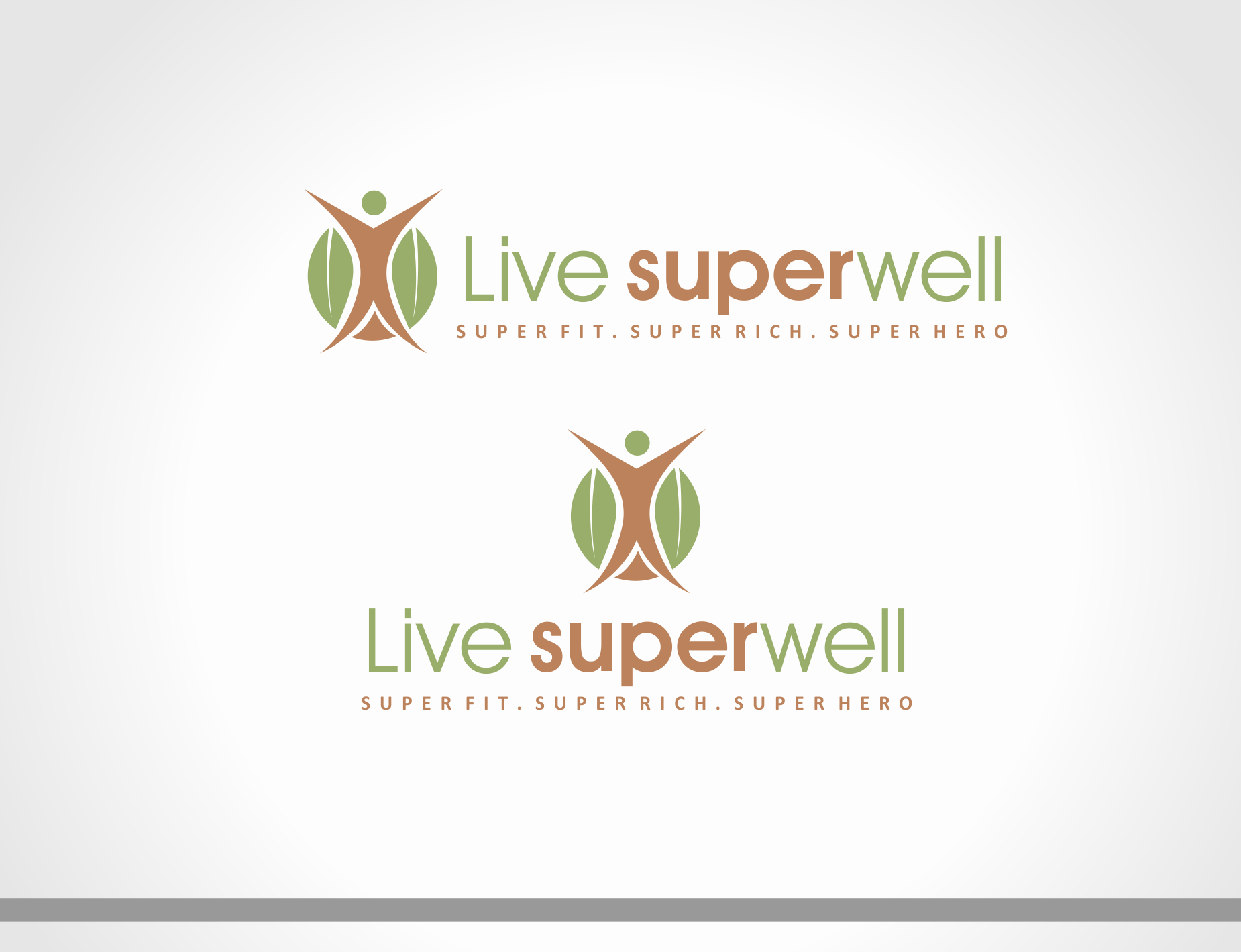 Logo Design by edwin123 - Entry No. 8 in the Logo Design Contest Unique Logo Design Wanted for Live Super Well.