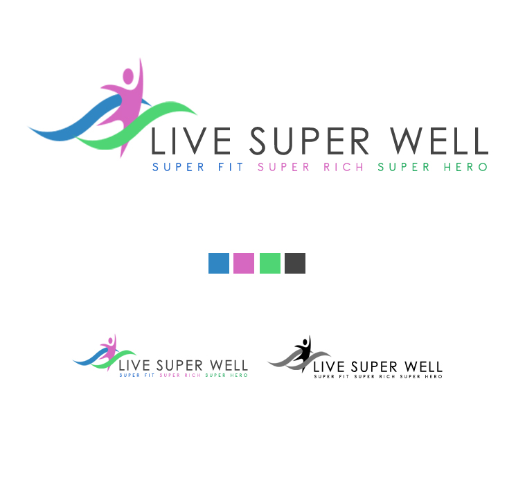 Logo Design by elmd - Entry No. 10 in the Logo Design Contest Unique Logo Design Wanted for Live Super Well.