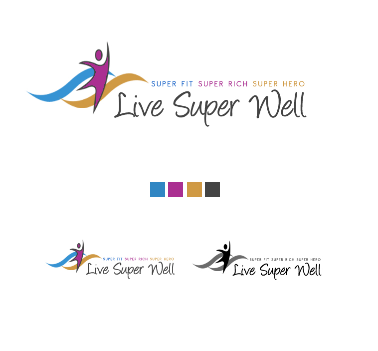 Logo Design by elmd - Entry No. 12 in the Logo Design Contest Unique Logo Design Wanted for Live Super Well.