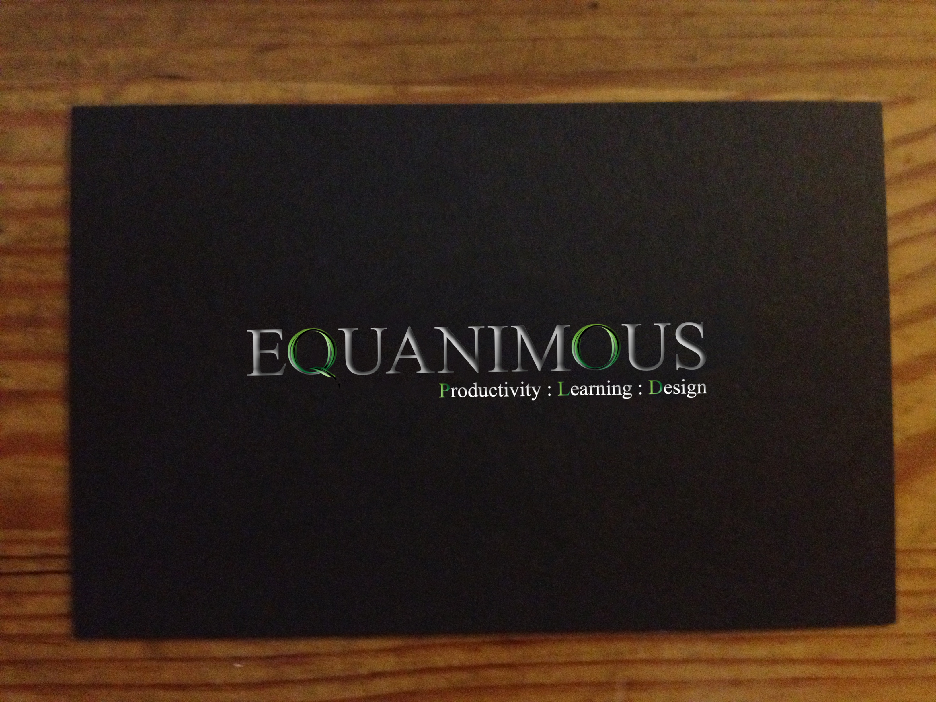Logo Design by 3draw - Entry No. 496 in the Logo Design Contest Logo Design : EQUANIMOUS : Productivity | Learning | Design.