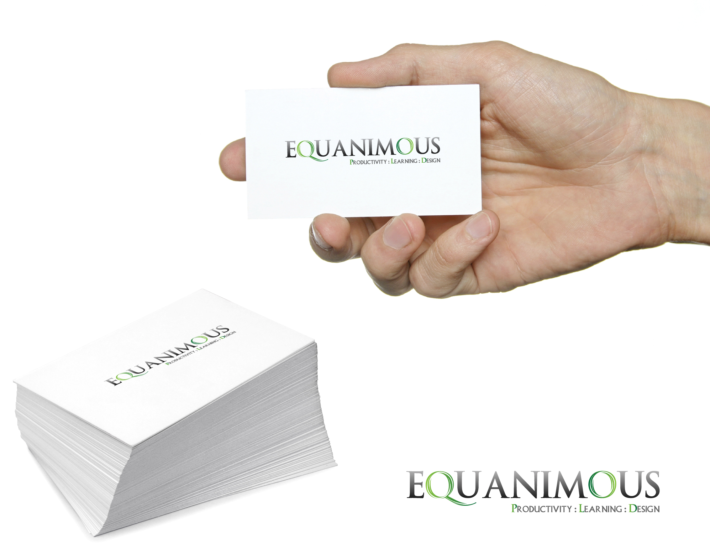 Logo Design by 3draw - Entry No. 497 in the Logo Design Contest Logo Design : EQUANIMOUS : Productivity | Learning | Design.