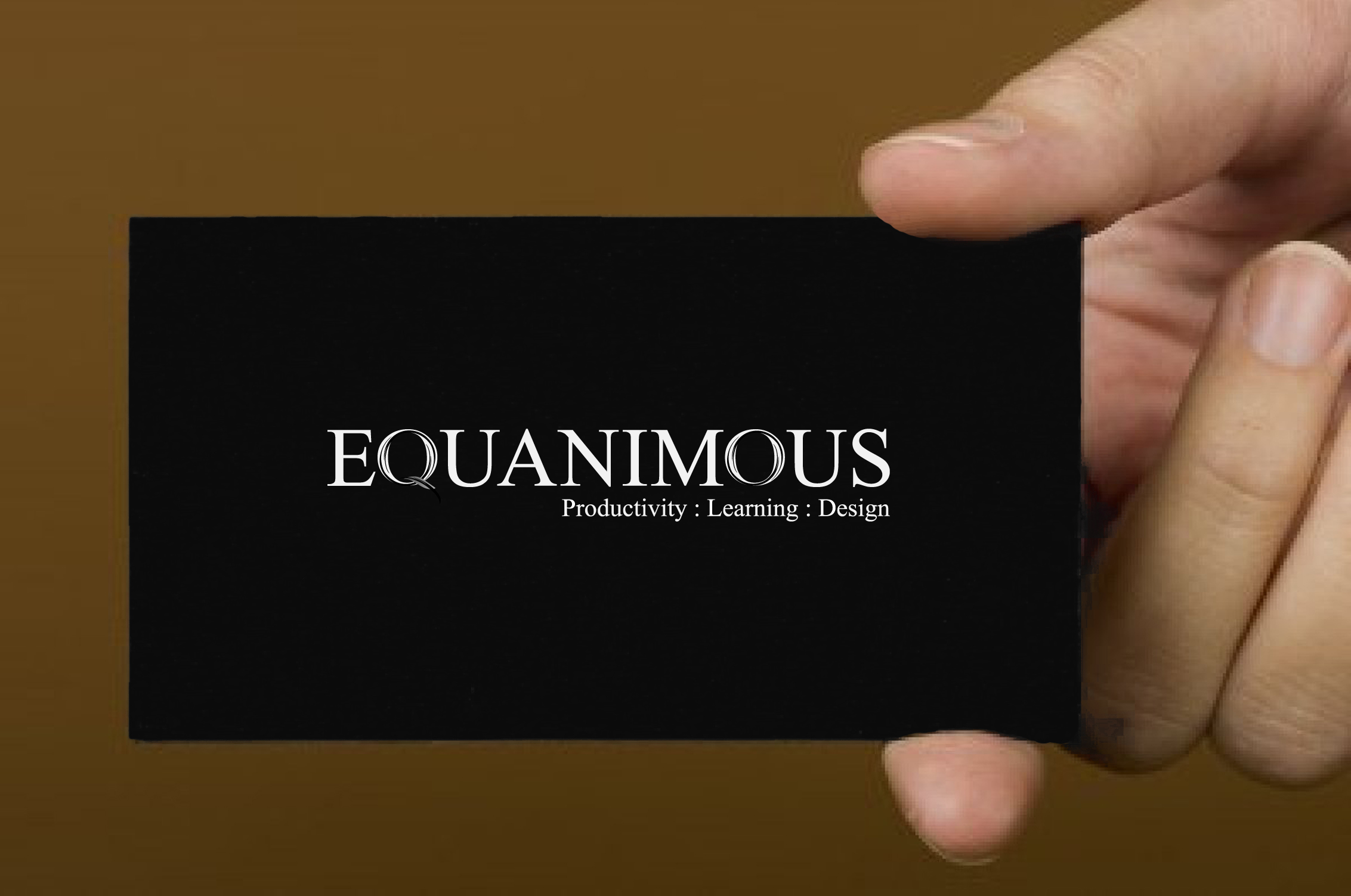 Logo Design by 3draw - Entry No. 498 in the Logo Design Contest Logo Design : EQUANIMOUS : Productivity | Learning | Design.