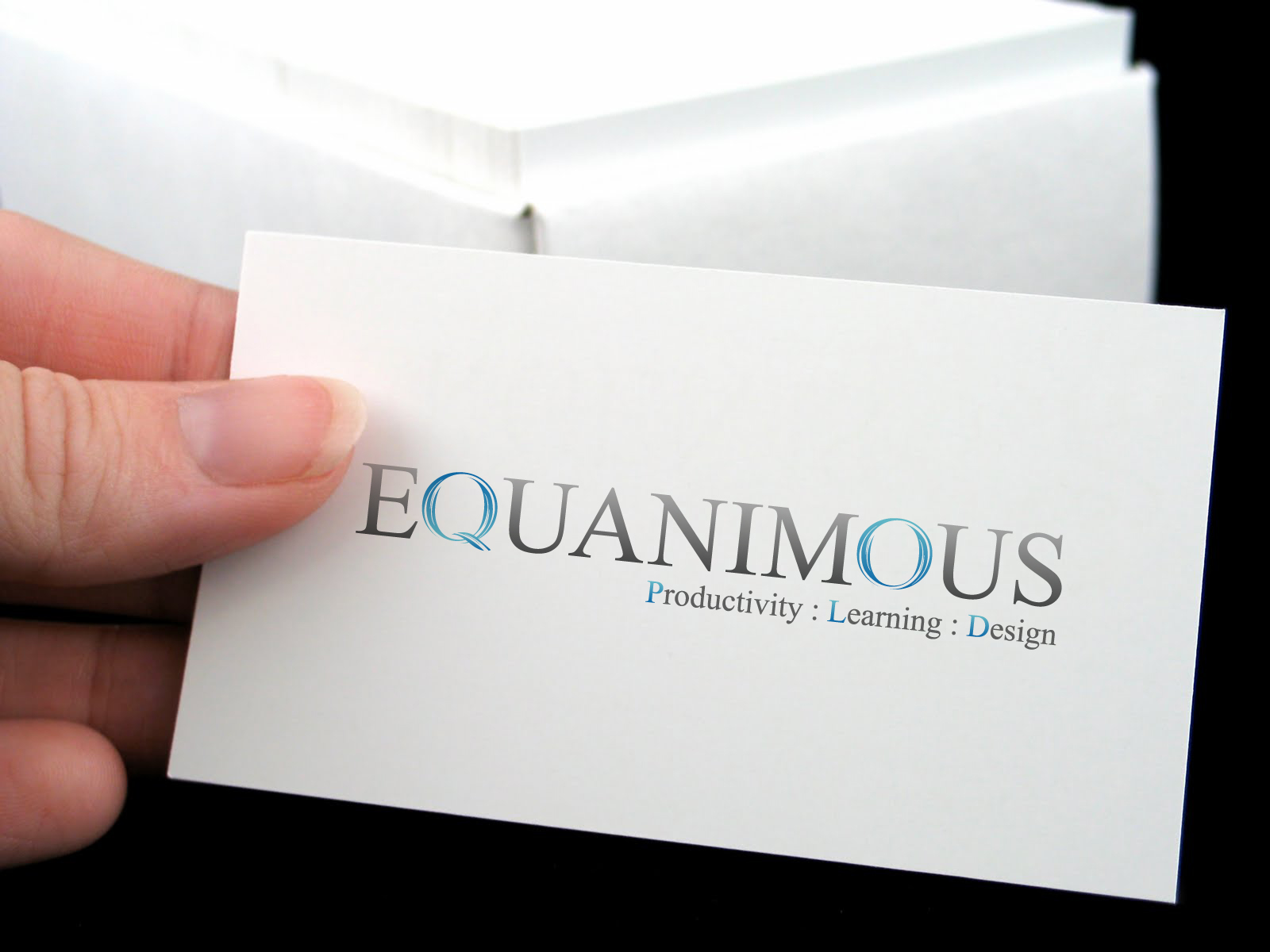 Logo Design by 3draw - Entry No. 499 in the Logo Design Contest Logo Design : EQUANIMOUS : Productivity | Learning | Design.