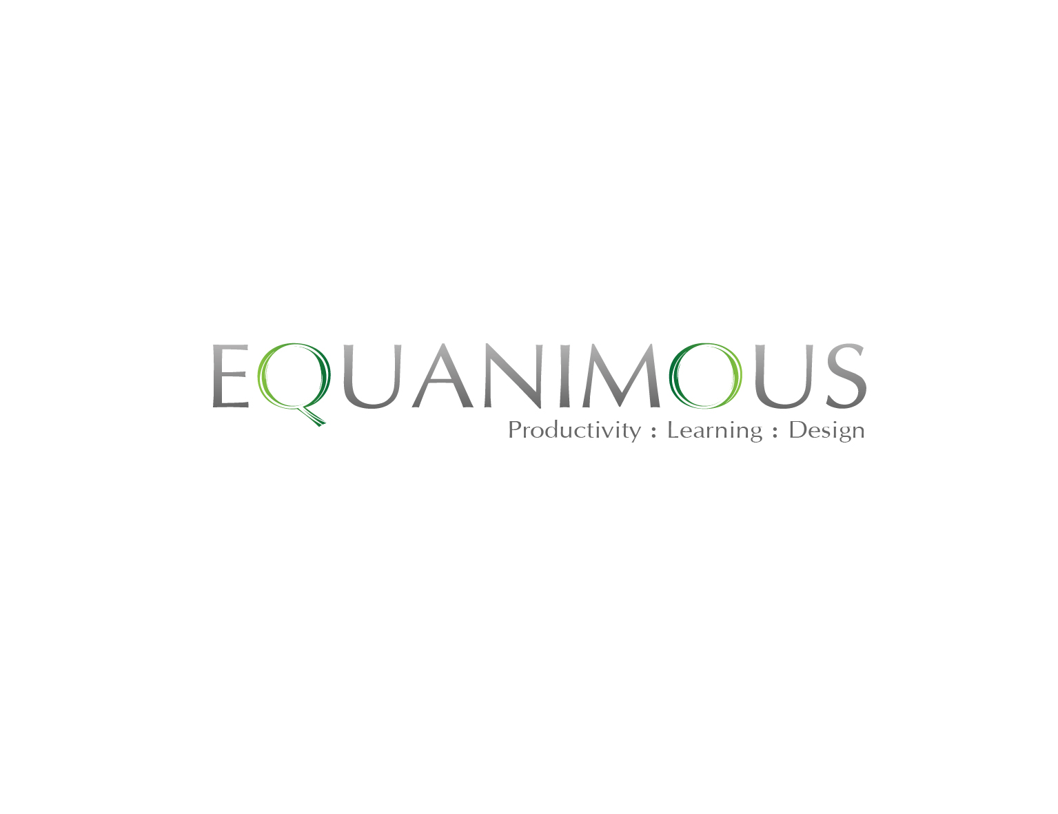 Logo Design by 3draw - Entry No. 500 in the Logo Design Contest Logo Design : EQUANIMOUS : Productivity | Learning | Design.