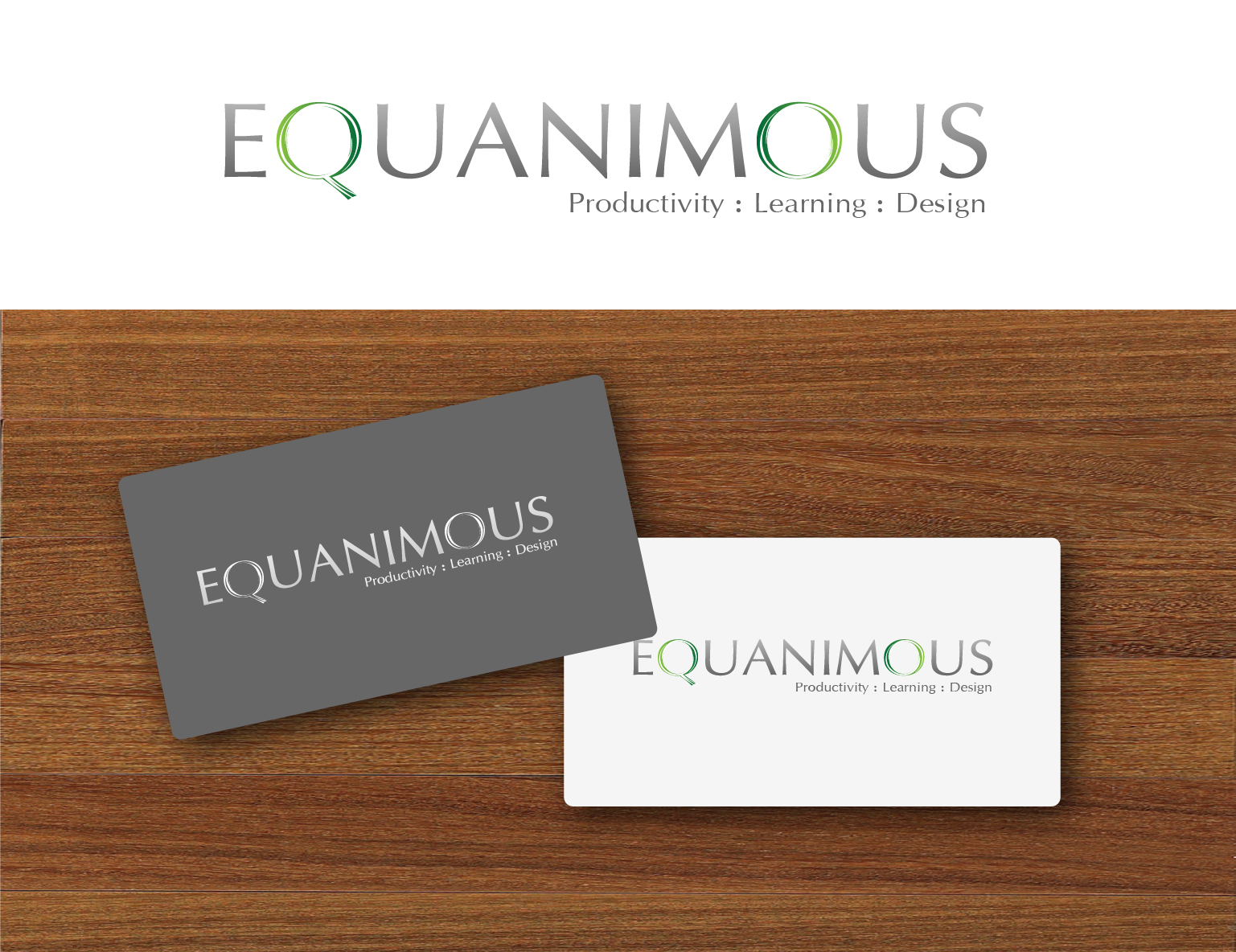 Logo Design by 3draw - Entry No. 501 in the Logo Design Contest Logo Design : EQUANIMOUS : Productivity | Learning | Design.
