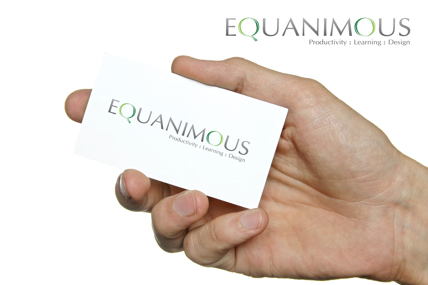Logo Design by 3draw - Entry No. 508 in the Logo Design Contest Logo Design : EQUANIMOUS : Productivity | Learning | Design.