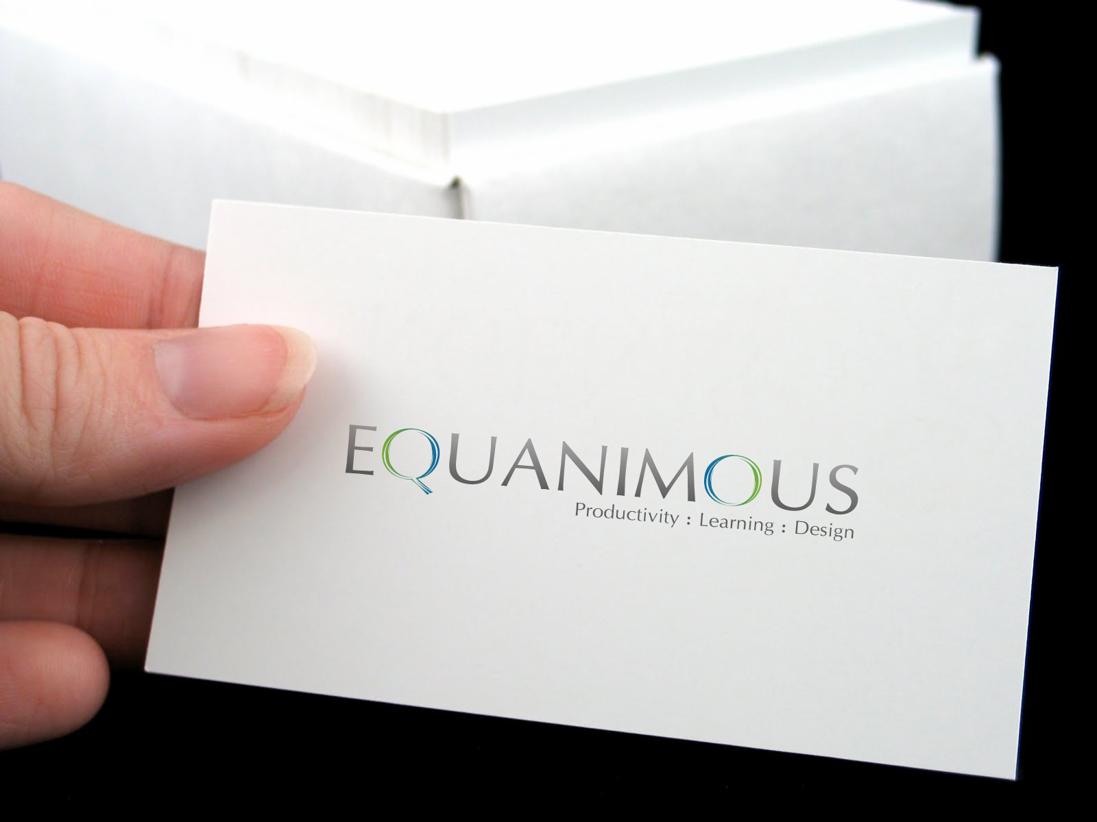 Logo Design by 3draw - Entry No. 509 in the Logo Design Contest Logo Design : EQUANIMOUS : Productivity | Learning | Design.