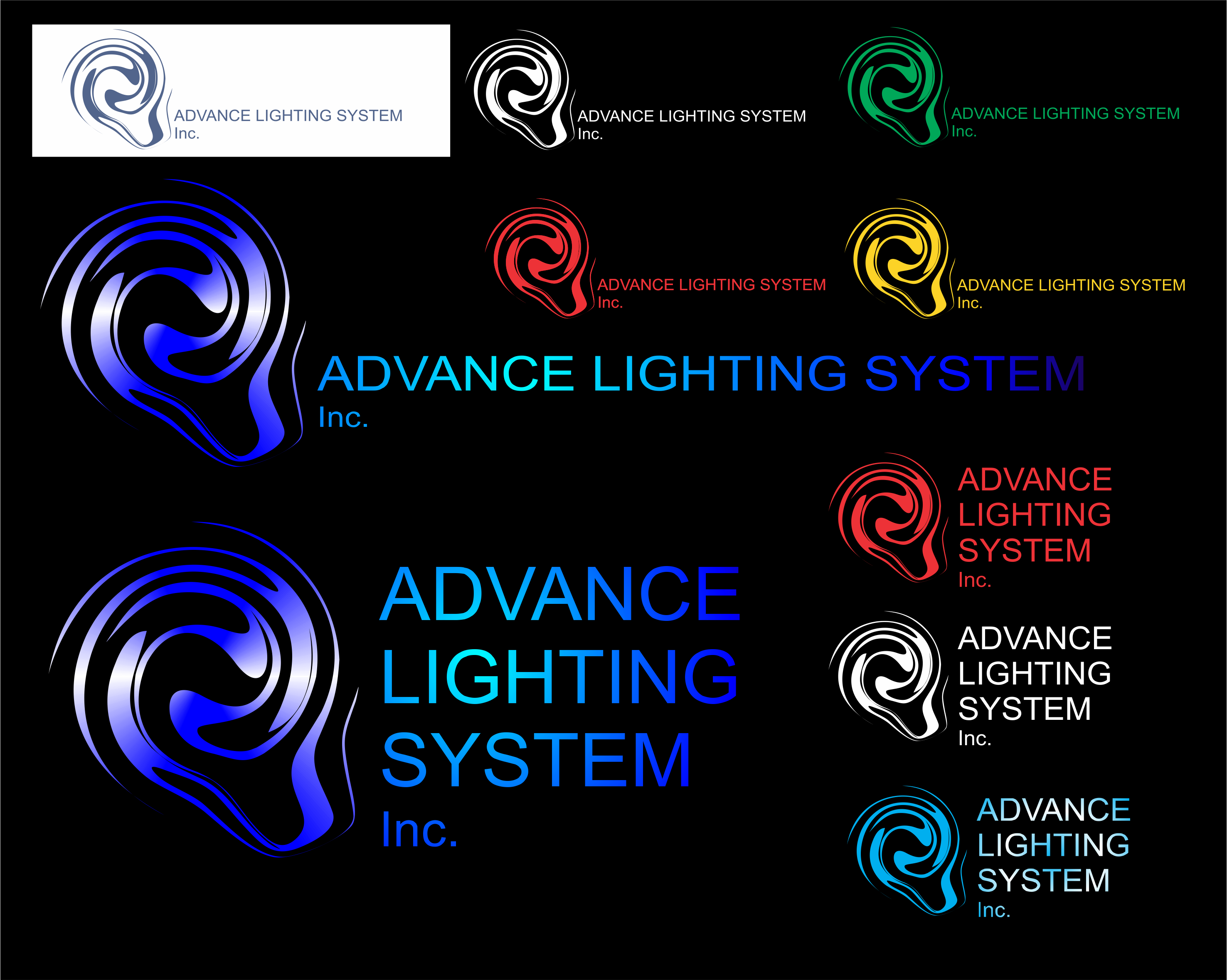 Logo Design by Private User - Entry No. 160 in the Logo Design Contest New Logo Design Needed for  Company Advanced Lighting Systems Inc..