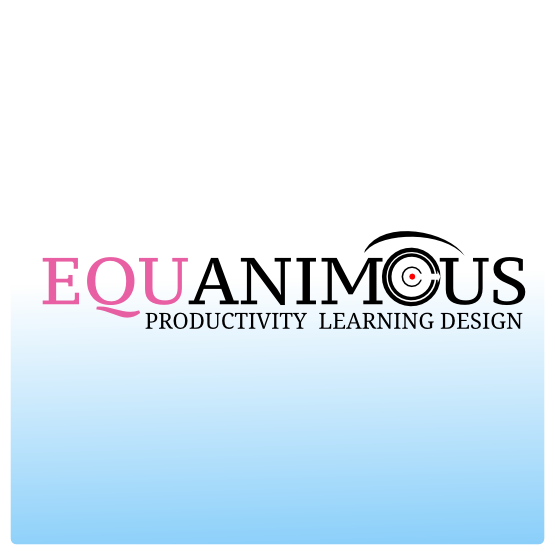 Logo Design by Widy Jantiko - Entry No. 516 in the Logo Design Contest Logo Design : EQUANIMOUS : Productivity | Learning | Design.