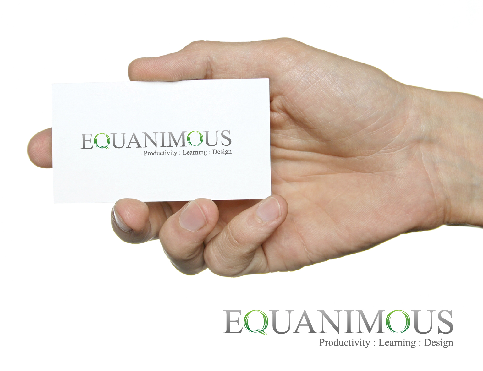 Logo Design by 3draw - Entry No. 517 in the Logo Design Contest Logo Design : EQUANIMOUS : Productivity | Learning | Design.