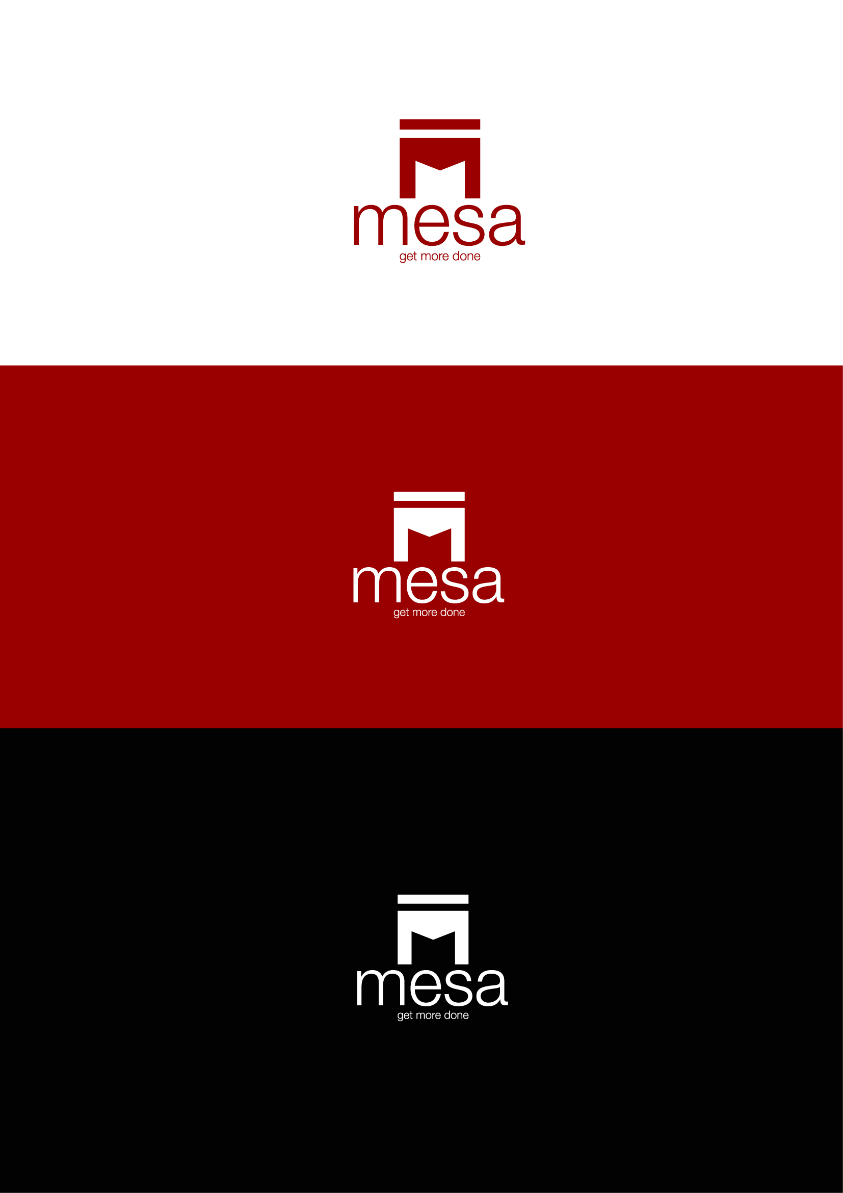 Logo Design by Osi Indra - Entry No. 104 in the Logo Design Contest Logo Design for Mesa.
