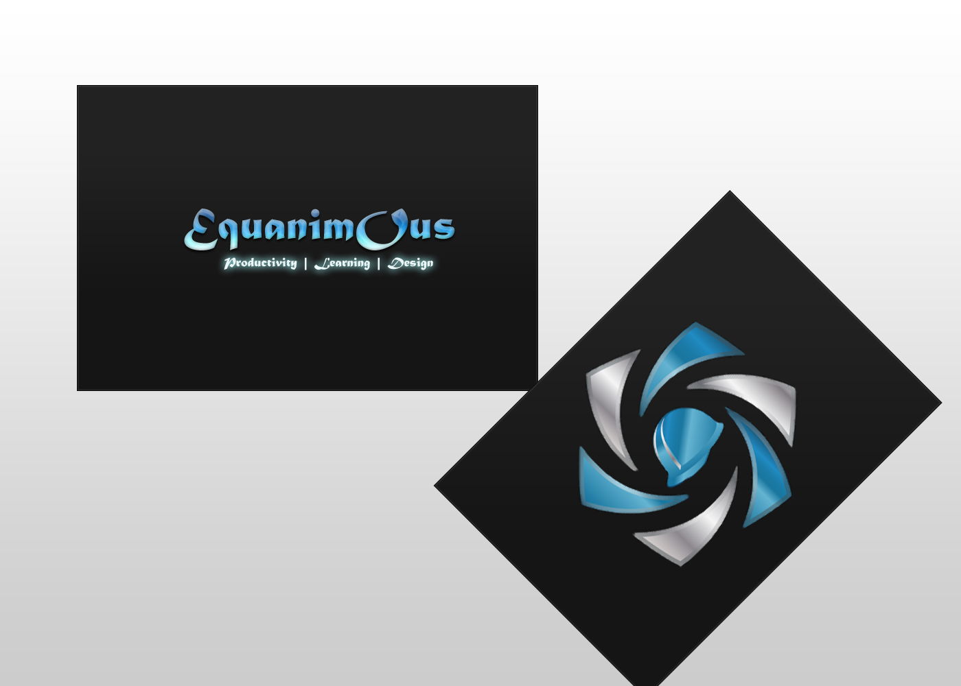 Logo Design by DOUMA AMINE - Entry No. 519 in the Logo Design Contest Logo Design : EQUANIMOUS : Productivity | Learning | Design.