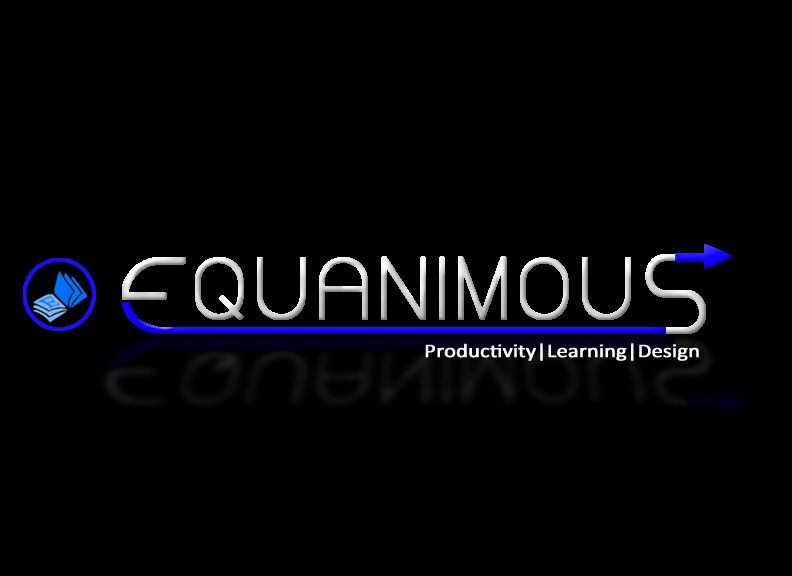 Logo Design by masc120 - Entry No. 524 in the Logo Design Contest Logo Design : EQUANIMOUS : Productivity | Learning | Design.