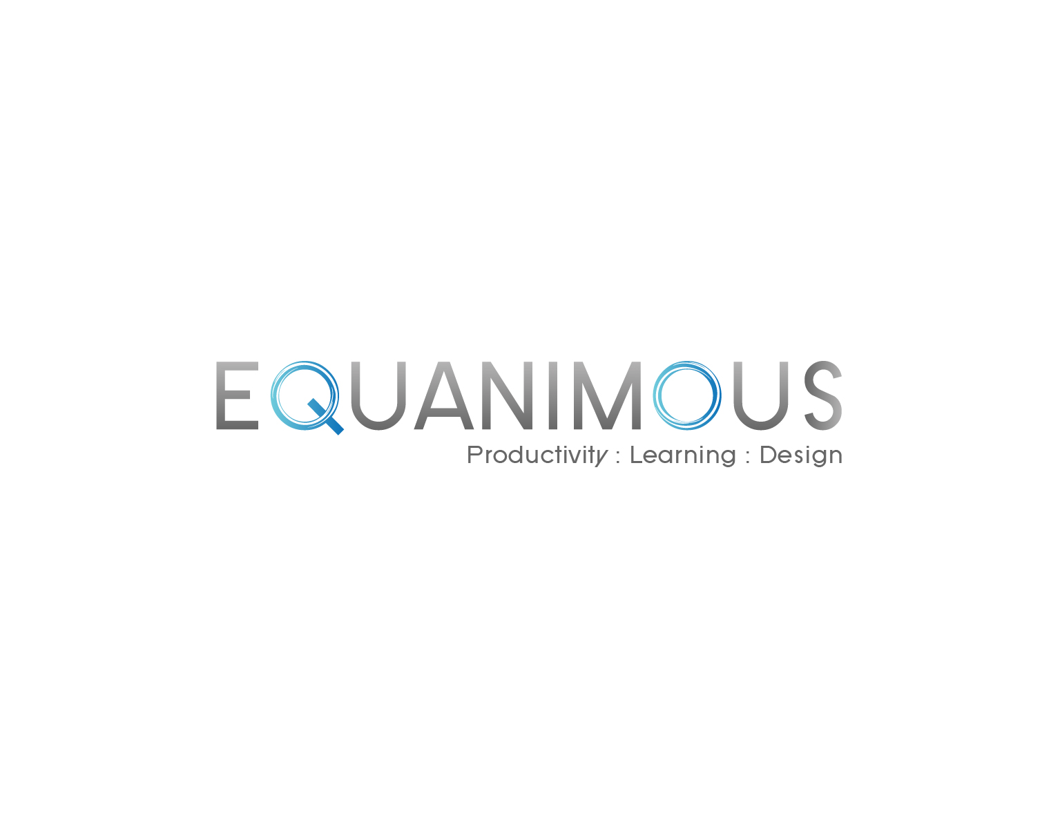 Logo Design by 3draw - Entry No. 526 in the Logo Design Contest Logo Design : EQUANIMOUS : Productivity | Learning | Design.