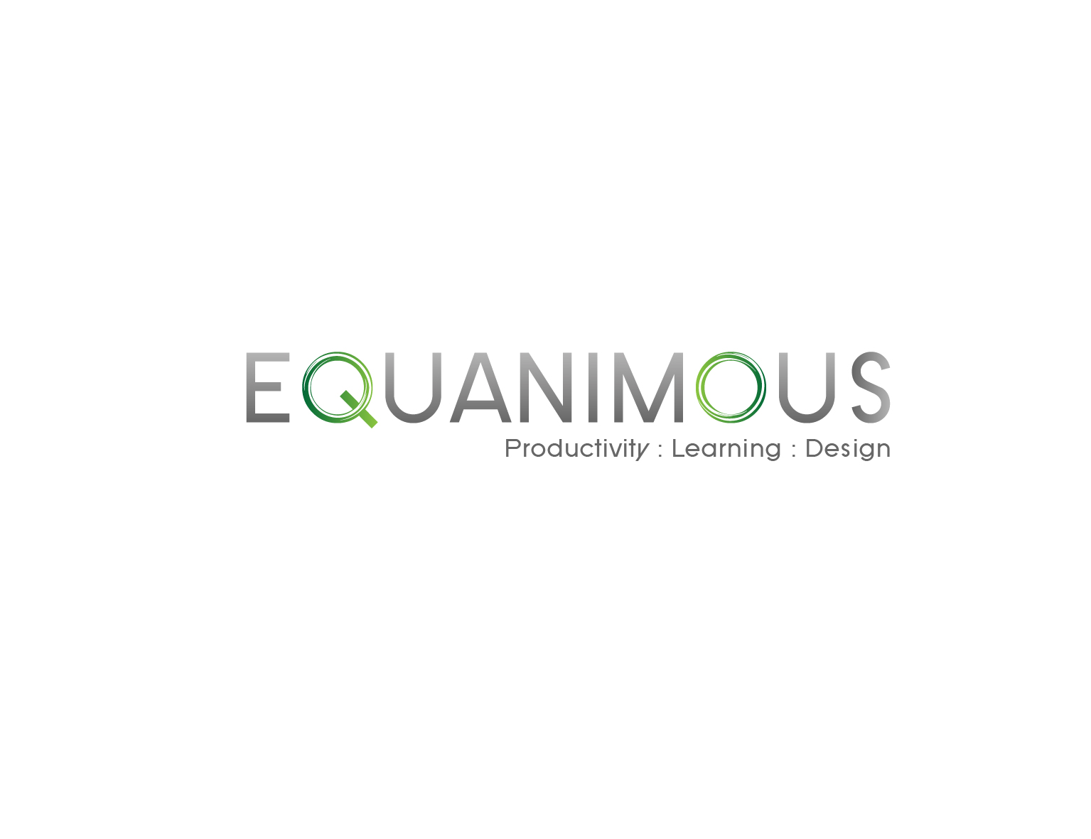 Logo Design by 3draw - Entry No. 527 in the Logo Design Contest Logo Design : EQUANIMOUS : Productivity | Learning | Design.