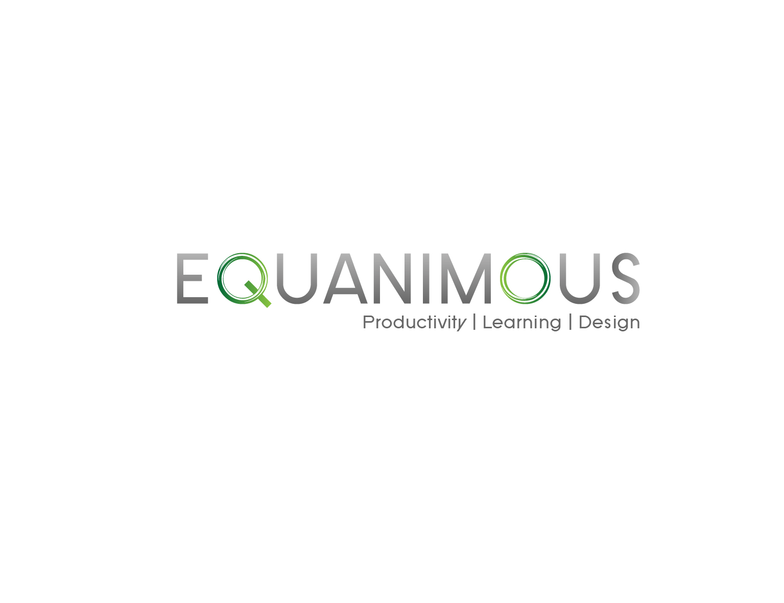 Logo Design by 3draw - Entry No. 528 in the Logo Design Contest Logo Design : EQUANIMOUS : Productivity | Learning | Design.