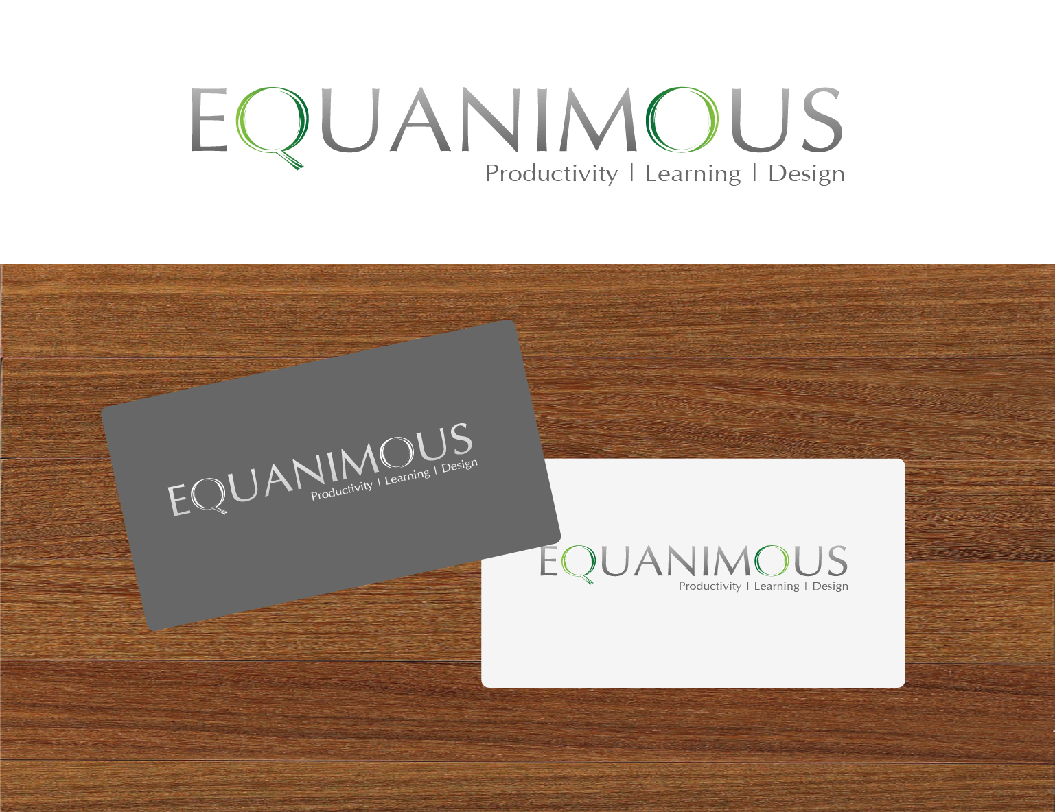 Logo Design by 3draw - Entry No. 529 in the Logo Design Contest Logo Design : EQUANIMOUS : Productivity | Learning | Design.