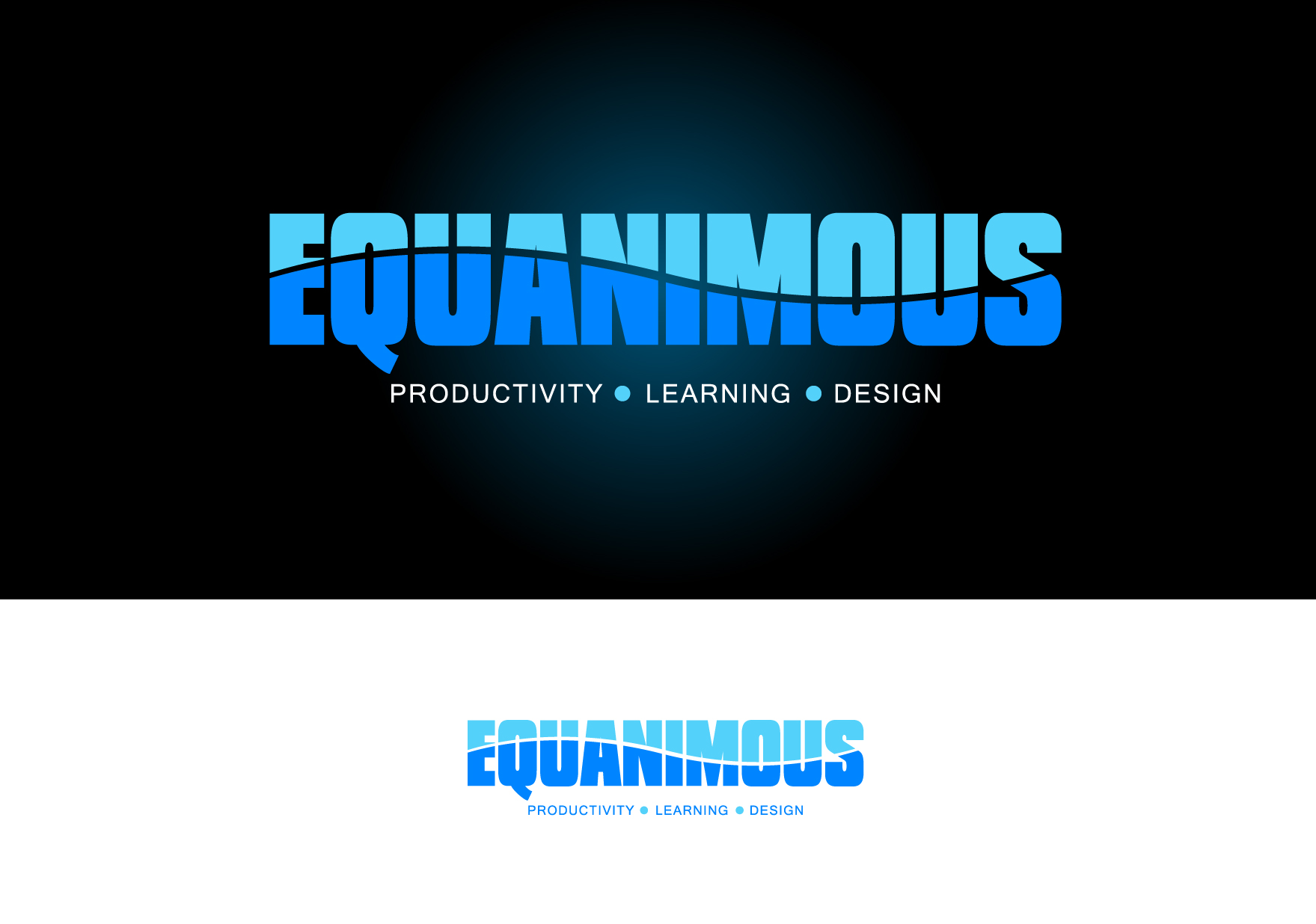 Logo Design by Wilfredo Mendoza - Entry No. 533 in the Logo Design Contest Logo Design : EQUANIMOUS : Productivity | Learning | Design.