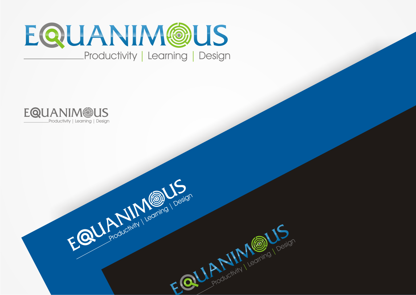 Logo Design by Pay_mo - Entry No. 534 in the Logo Design Contest Logo Design : EQUANIMOUS : Productivity | Learning | Design.