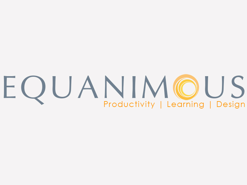 Logo Design by Mythos Designs - Entry No. 535 in the Logo Design Contest Logo Design : EQUANIMOUS : Productivity | Learning | Design.