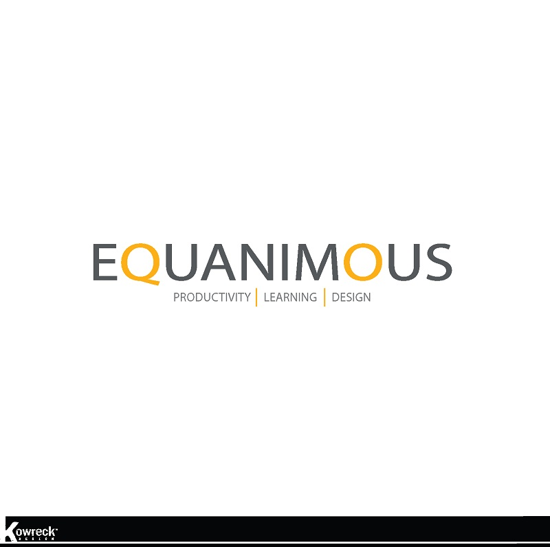 Logo Design by kowreck - Entry No. 538 in the Logo Design Contest Logo Design : EQUANIMOUS : Productivity | Learning | Design.
