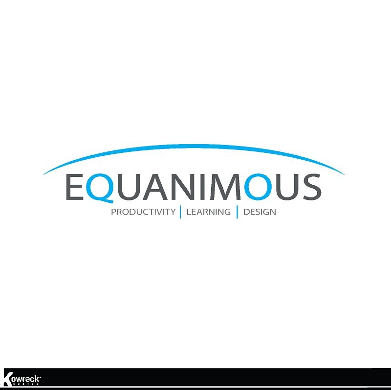 Logo Design by kowreck - Entry No. 539 in the Logo Design Contest Logo Design : EQUANIMOUS : Productivity | Learning | Design.