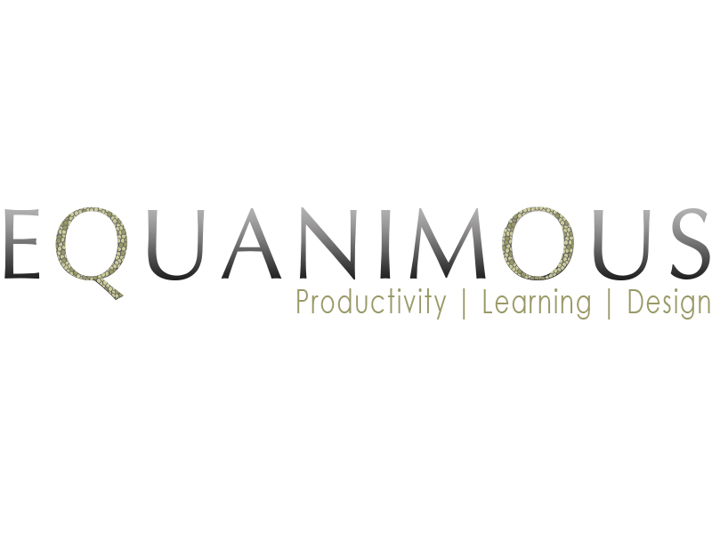 Logo Design by Mythos Designs - Entry No. 540 in the Logo Design Contest Logo Design : EQUANIMOUS : Productivity | Learning | Design.
