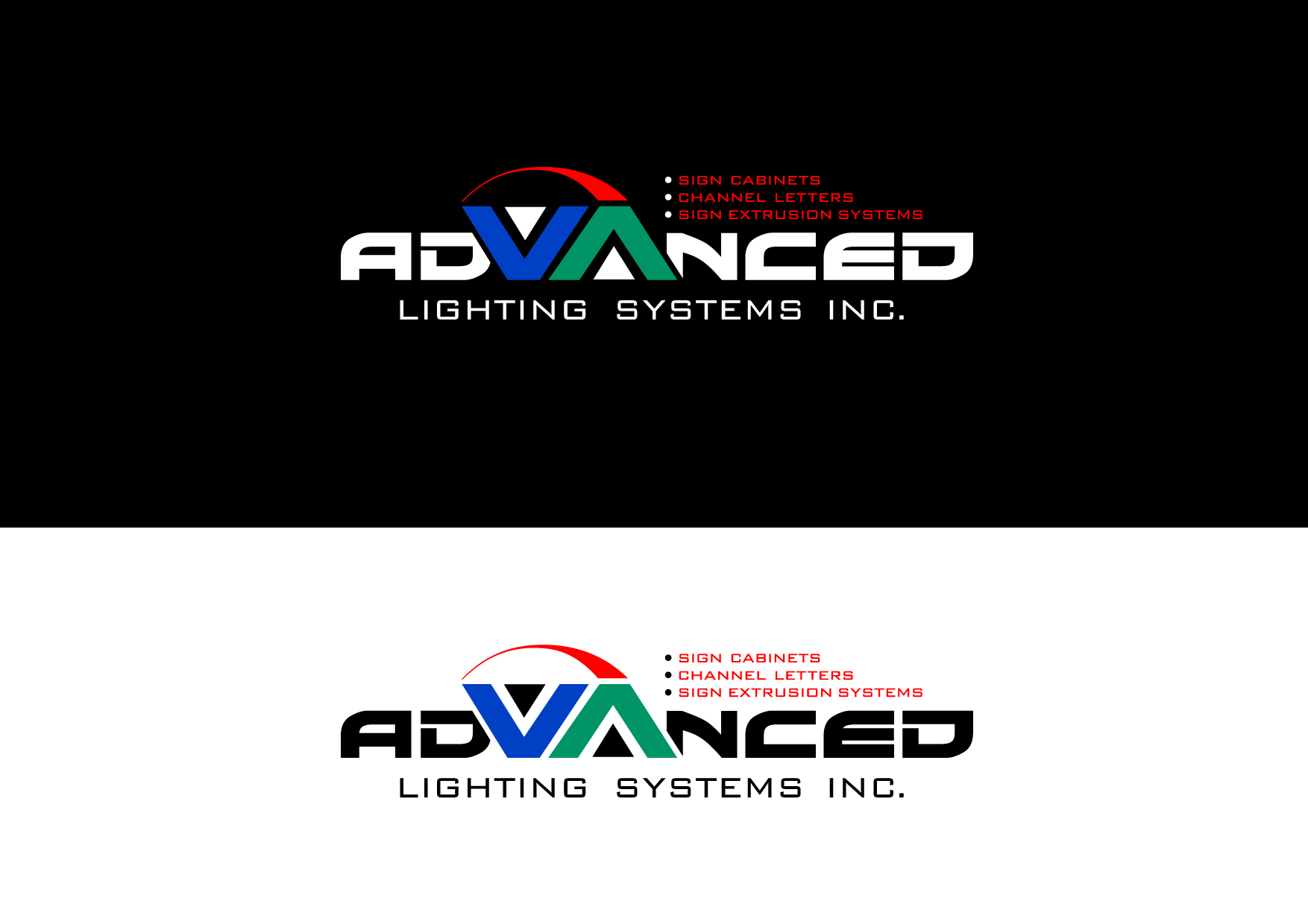 Logo Design by Wilfredo Mendoza - Entry No. 161 in the Logo Design Contest New Logo Design Needed for  Company Advanced Lighting Systems Inc..