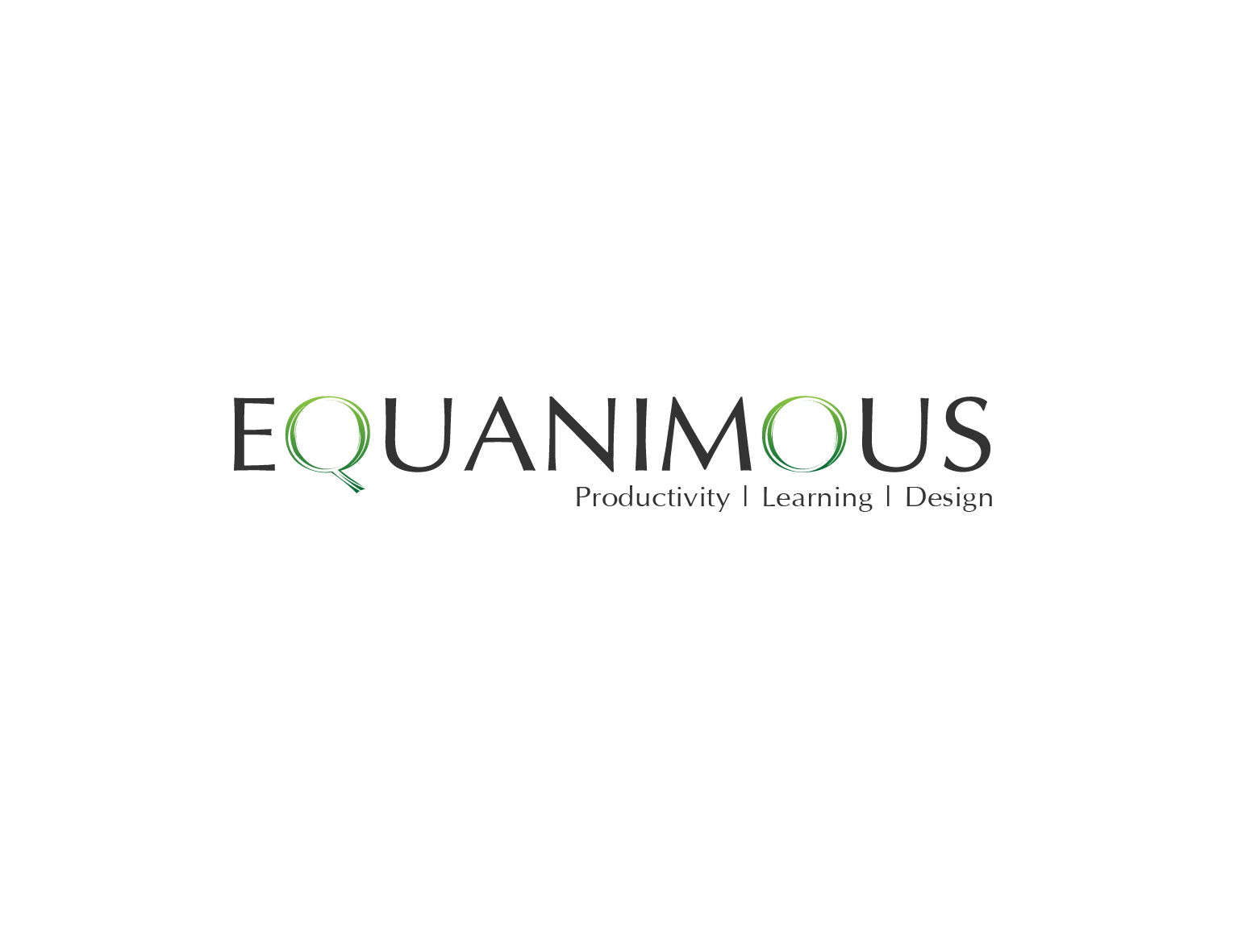 Logo Design by 3draw - Entry No. 546 in the Logo Design Contest Logo Design : EQUANIMOUS : Productivity | Learning | Design.