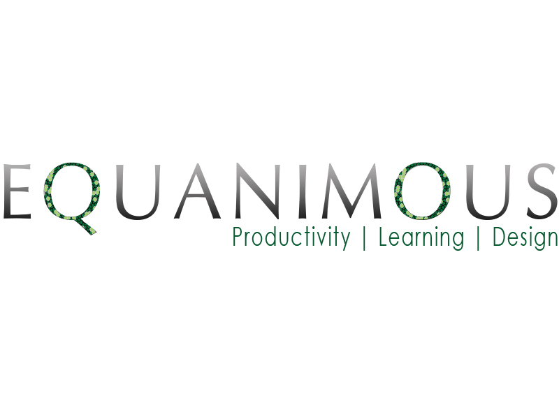Logo Design by Mythos Designs - Entry No. 547 in the Logo Design Contest Logo Design : EQUANIMOUS : Productivity | Learning | Design.