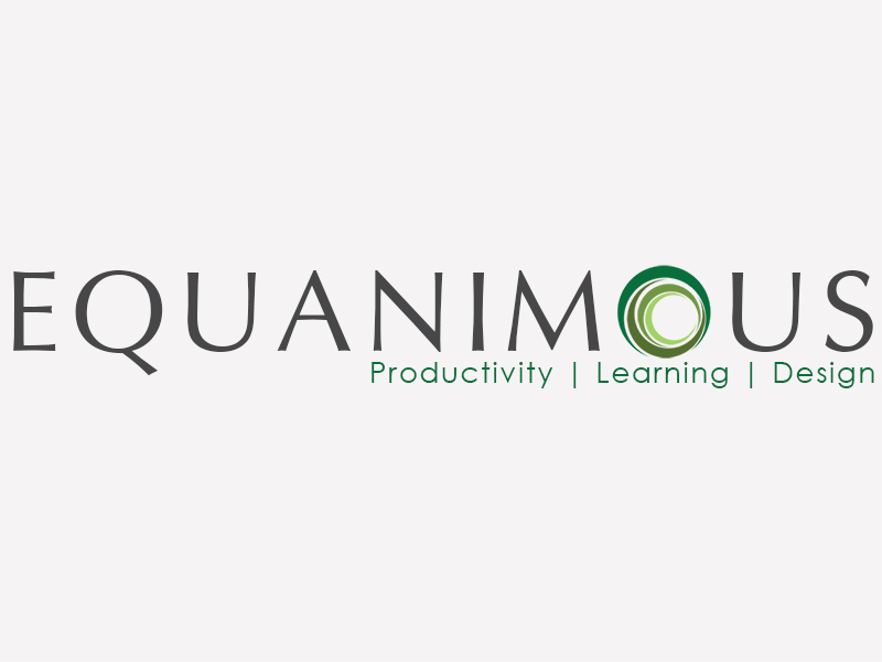 Logo Design by Mythos Designs - Entry No. 548 in the Logo Design Contest Logo Design : EQUANIMOUS : Productivity | Learning | Design.