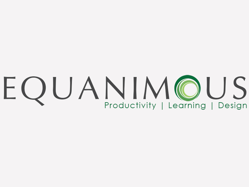 Logo Design by Mythos Designs - Entry No. 552 in the Logo Design Contest Logo Design : EQUANIMOUS : Productivity | Learning | Design.