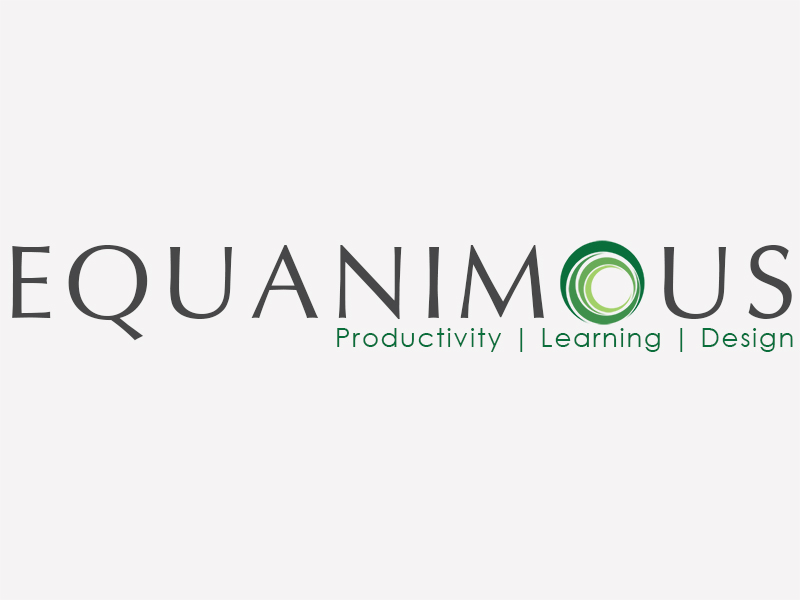 Logo Design by Mythos Designs - Entry No. 553 in the Logo Design Contest Logo Design : EQUANIMOUS : Productivity | Learning | Design.