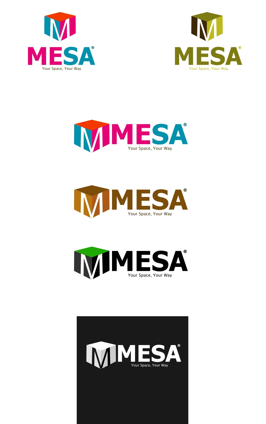 Logo Design by Private User - Entry No. 113 in the Logo Design Contest Logo Design for Mesa.