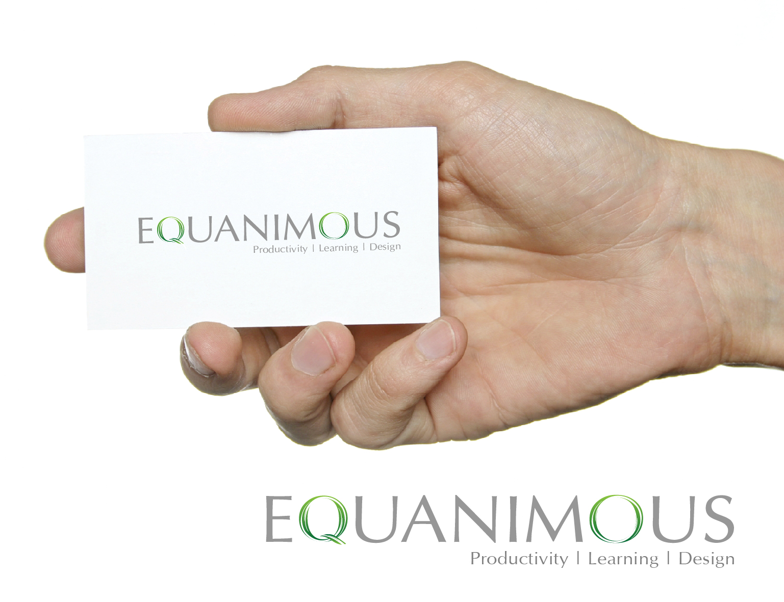 Logo Design by 3draw - Entry No. 558 in the Logo Design Contest Logo Design : EQUANIMOUS : Productivity | Learning | Design.