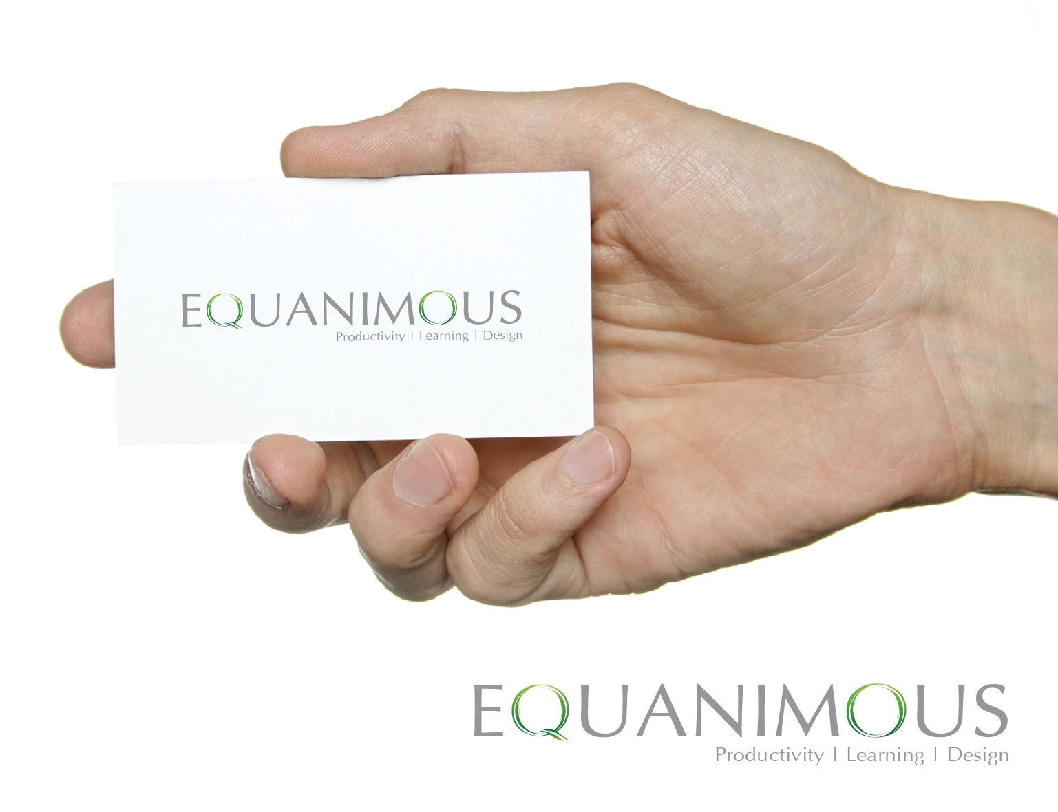 Logo Design by 3draw - Entry No. 560 in the Logo Design Contest Logo Design : EQUANIMOUS : Productivity | Learning | Design.