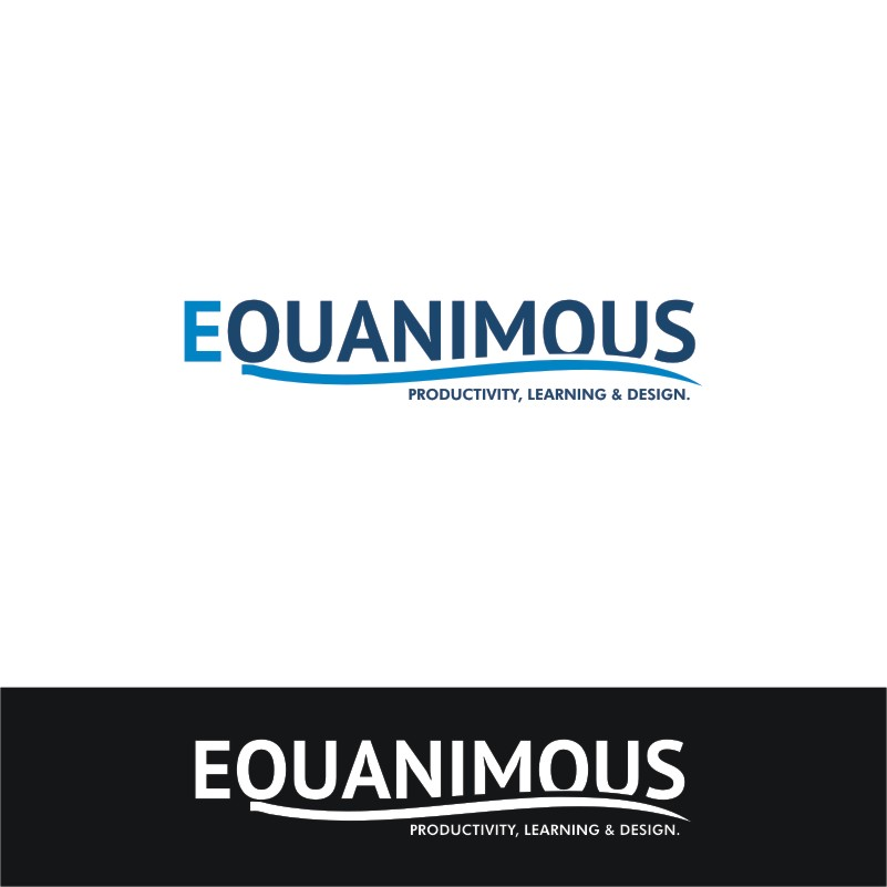 Logo Design by Private User - Entry No. 564 in the Logo Design Contest Logo Design : EQUANIMOUS : Productivity | Learning | Design.