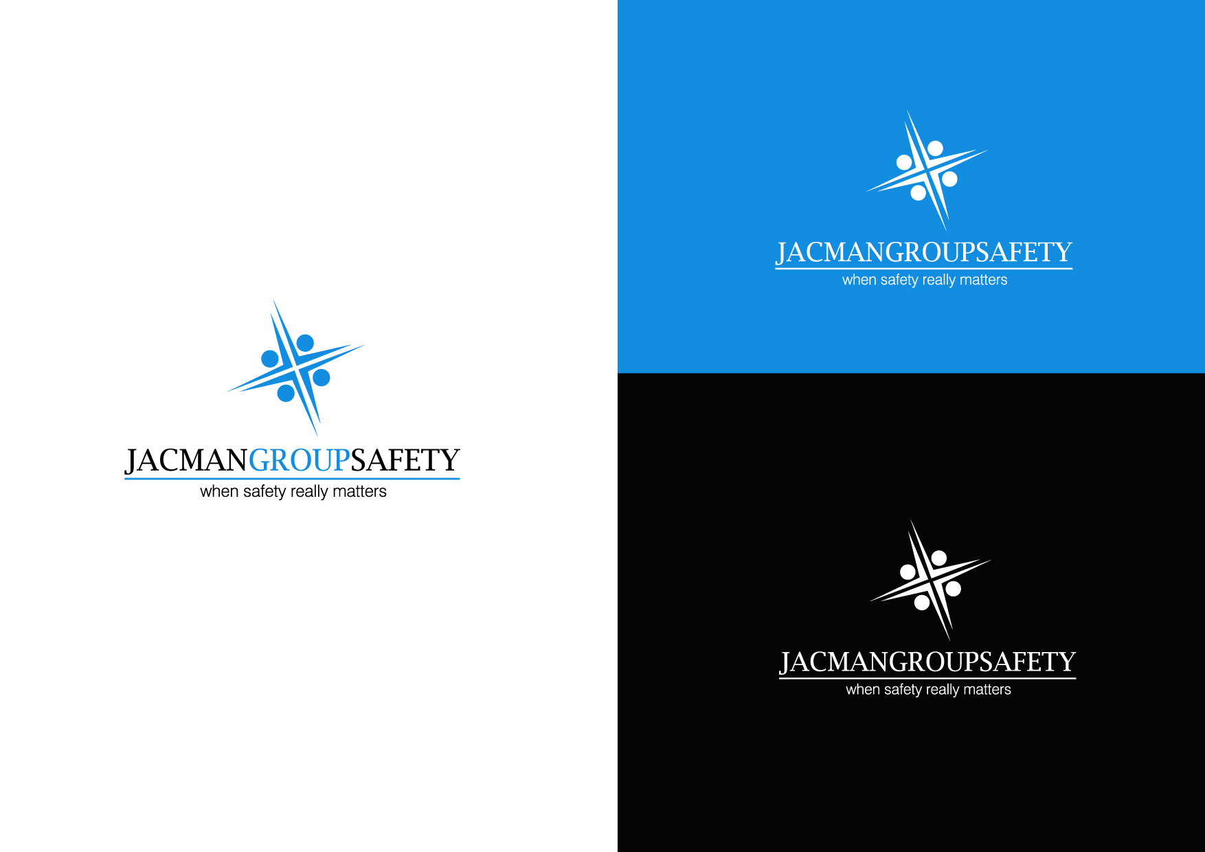 Logo Design by Osi Indra - Entry No. 61 in the Logo Design Contest The Jacman Group Logo Design.