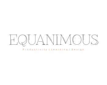 Logo Design by Rudy - Entry No. 570 in the Logo Design Contest Logo Design : EQUANIMOUS : Productivity | Learning | Design.