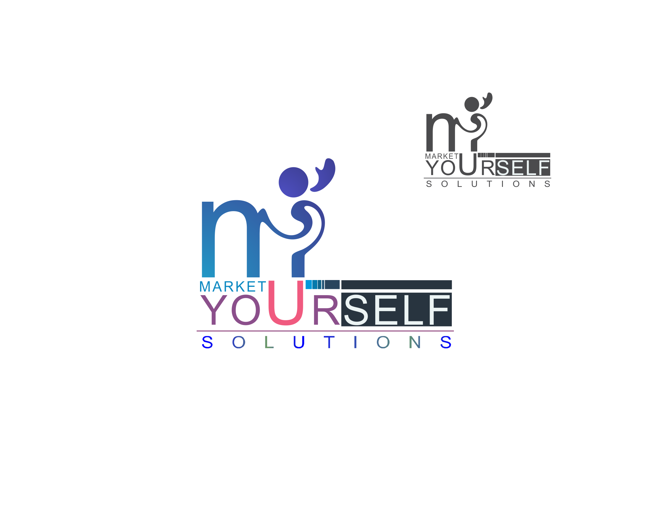 Logo Design by Private User - Entry No. 31 in the Logo Design Contest Fun Logo Design for Market Yourself Solutions.