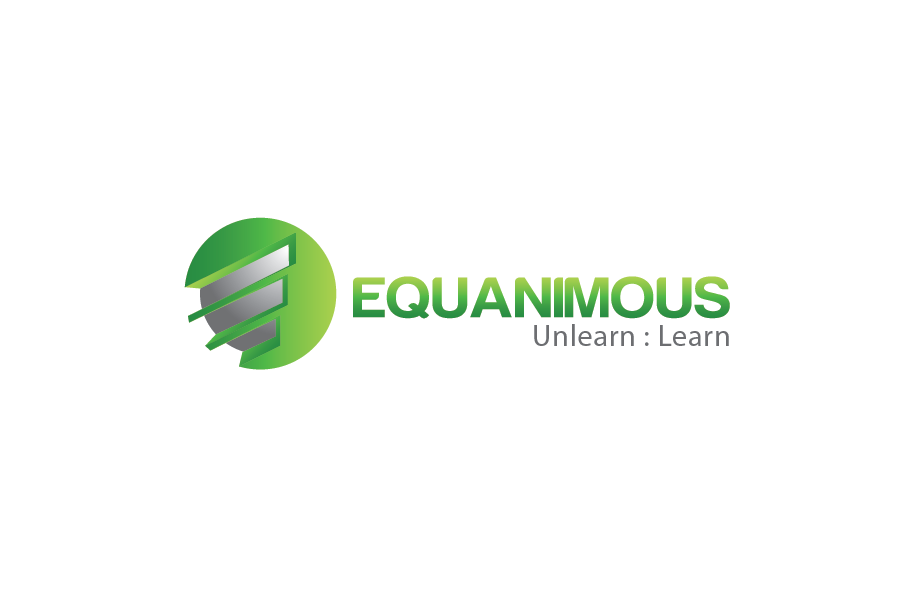 Logo Design by Moin Javed - Entry No. 572 in the Logo Design Contest Logo Design : EQUANIMOUS : Productivity | Learning | Design.