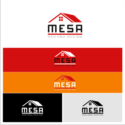 Logo Design by Dedi Mahpudin - Entry No. 118 in the Logo Design Contest Logo Design for Mesa.
