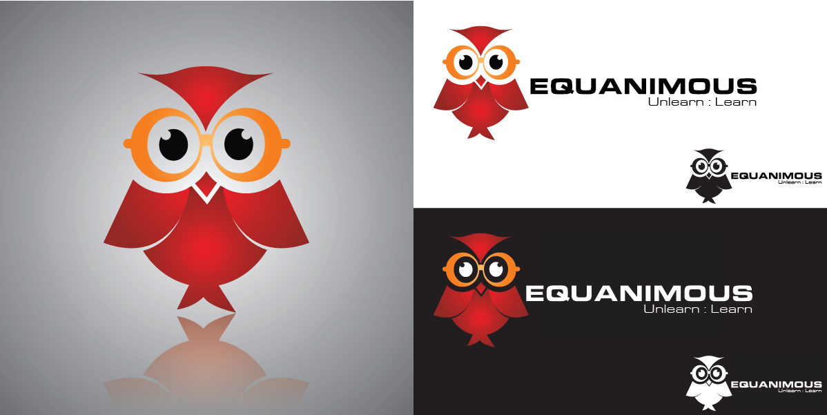 Logo Design by Moin Javed - Entry No. 576 in the Logo Design Contest Logo Design : EQUANIMOUS : Productivity | Learning | Design.