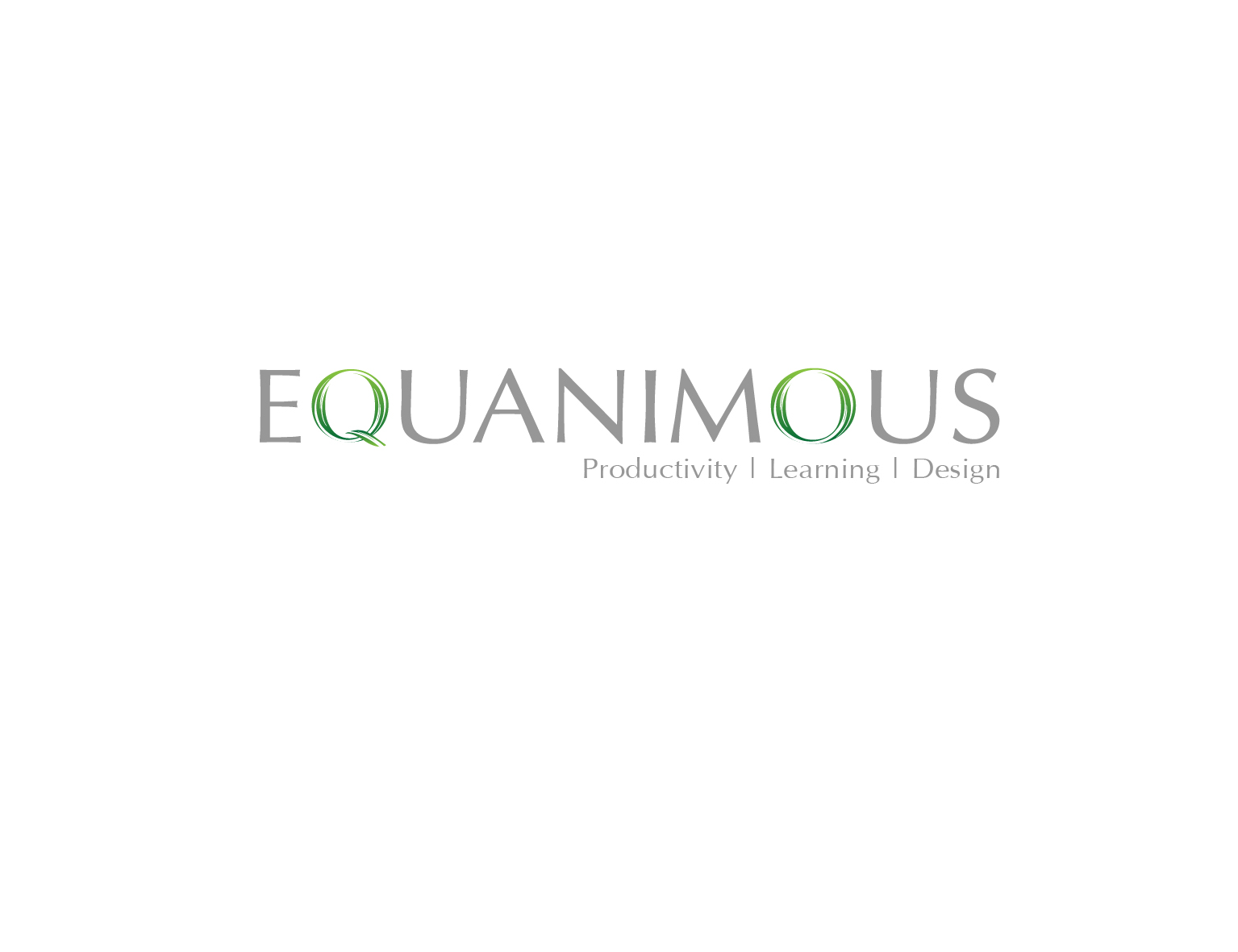 Logo Design by 3draw - Entry No. 577 in the Logo Design Contest Logo Design : EQUANIMOUS : Productivity | Learning | Design.