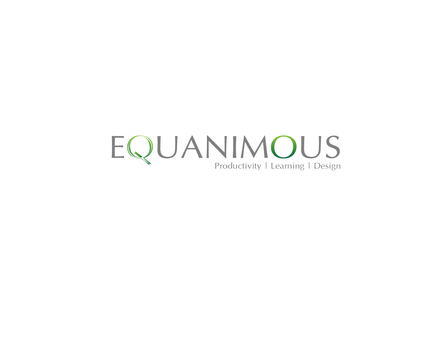 Logo Design by 3draw - Entry No. 581 in the Logo Design Contest Logo Design : EQUANIMOUS : Productivity | Learning | Design.