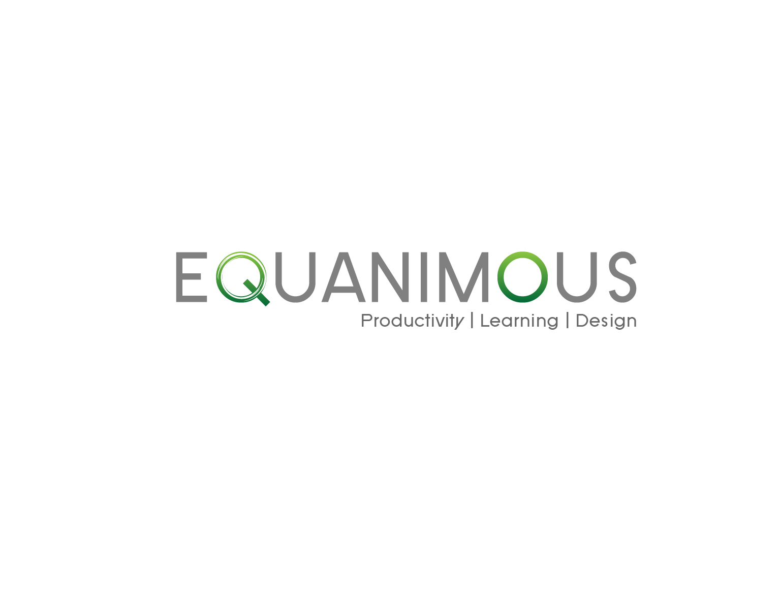 Logo Design by 3draw - Entry No. 582 in the Logo Design Contest Logo Design : EQUANIMOUS : Productivity | Learning | Design.