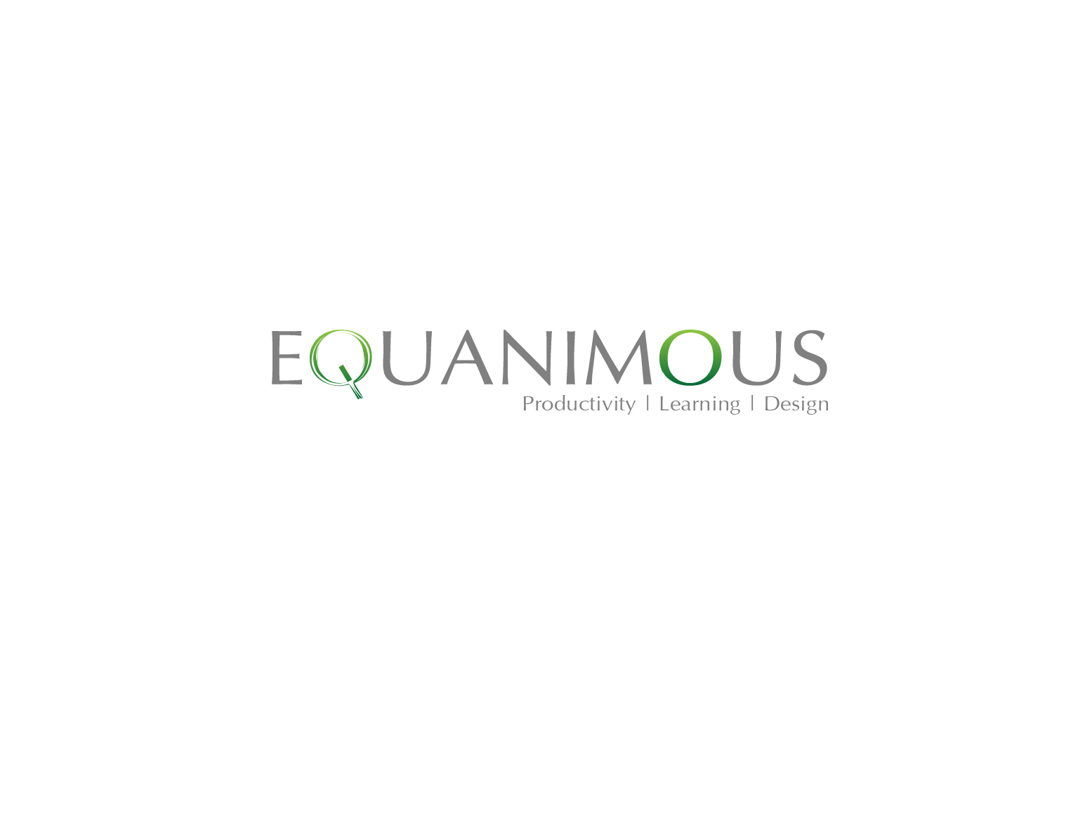 Logo Design by 3draw - Entry No. 583 in the Logo Design Contest Logo Design : EQUANIMOUS : Productivity | Learning | Design.