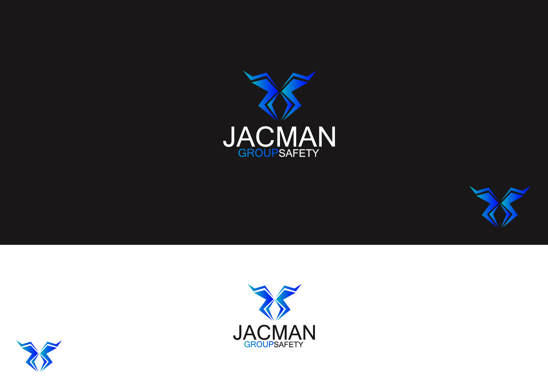 Logo Design by Osi Indra - Entry No. 66 in the Logo Design Contest The Jacman Group Logo Design.