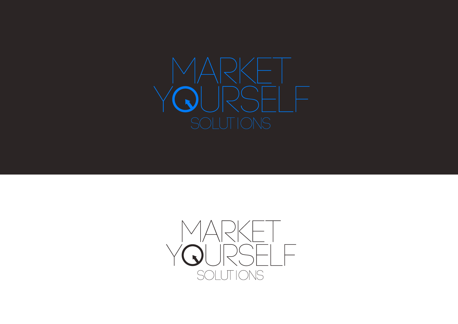 fun logo design for market yourself solutions hiretheworld fun logo design for market yourself solutions