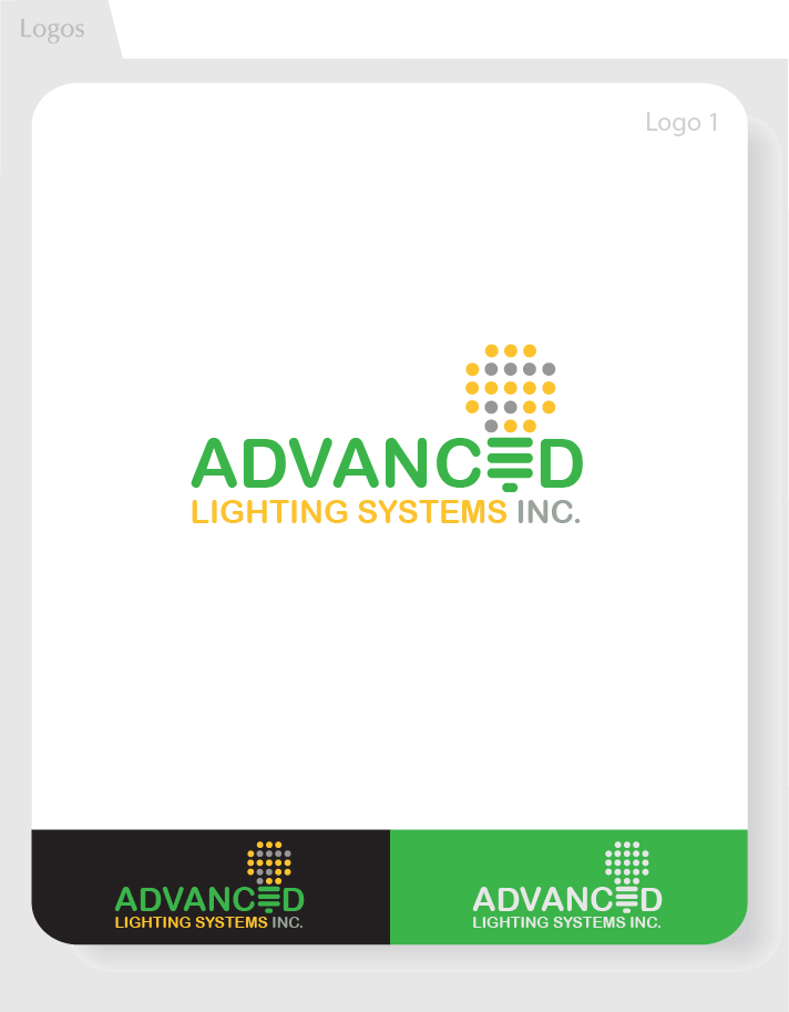Logo Design by Moqeem Naqvi - Entry No. 162 in the Logo Design Contest New Logo Design Needed for  Company Advanced Lighting Systems Inc..